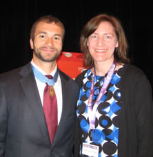 Sal Giunta and Karen Pavlicin-Fragnito