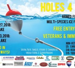 Fishing for Life Holes 4 Heroes ice fishing tournament