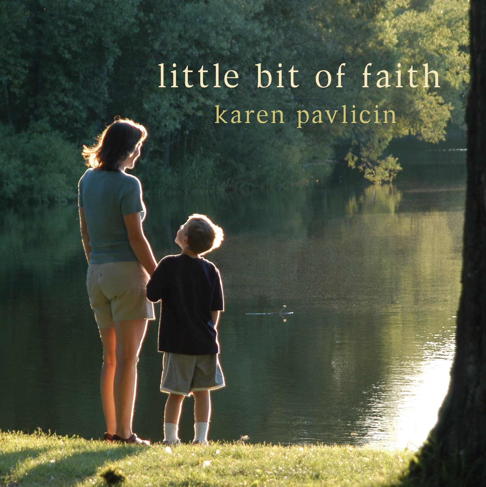 Little Bit of Faith (CD) by Karen Pavlicin