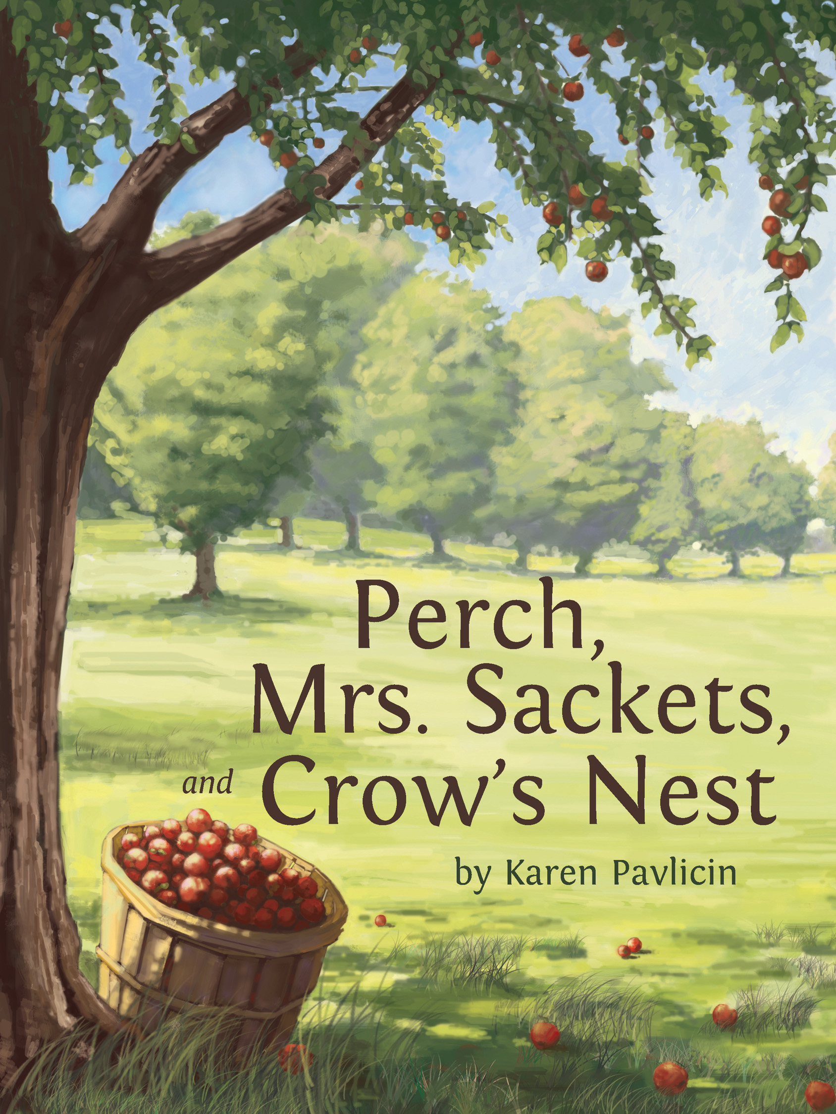 Multiple-award-winning children's novel Perch, Mrs. Sackets, and Crow's Nest by Karen Pavlicin